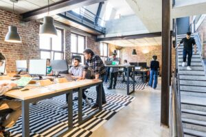 Offices rely on strong network connectivity solutions to prepare for new technologies and multiple devices.